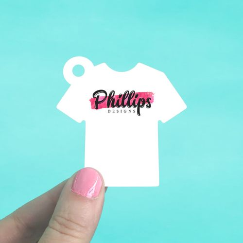 Tee Shirt Hang Tags