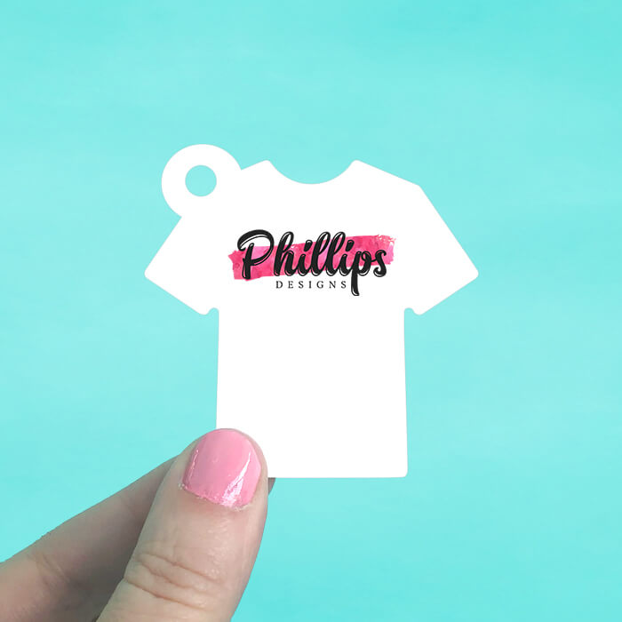 Tee Shirt Hang Tags