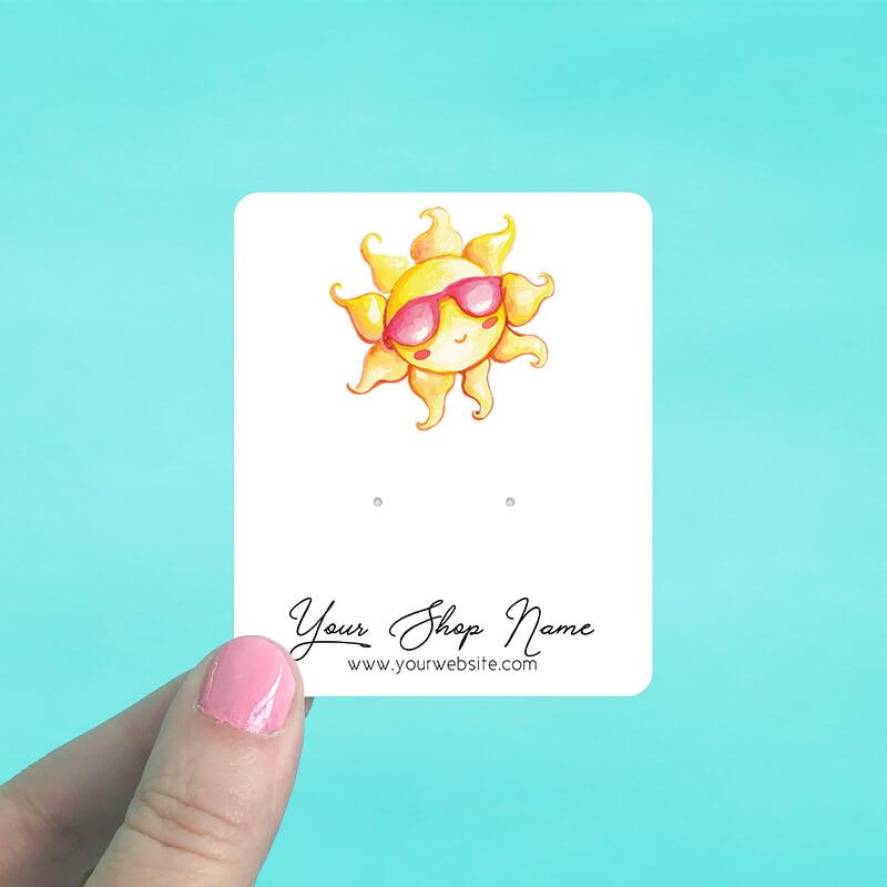 Hello Sunshine Jewelry Display Cards