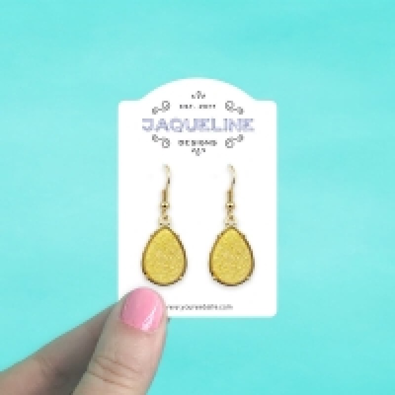 Dome Top Jewelry Cards