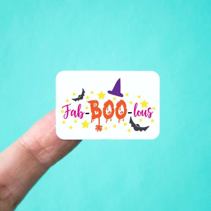 Fab-BOO-lous Stickers