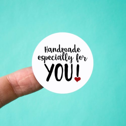 Handmade Especially for You Stickers