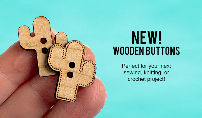 New Wooden Buttons