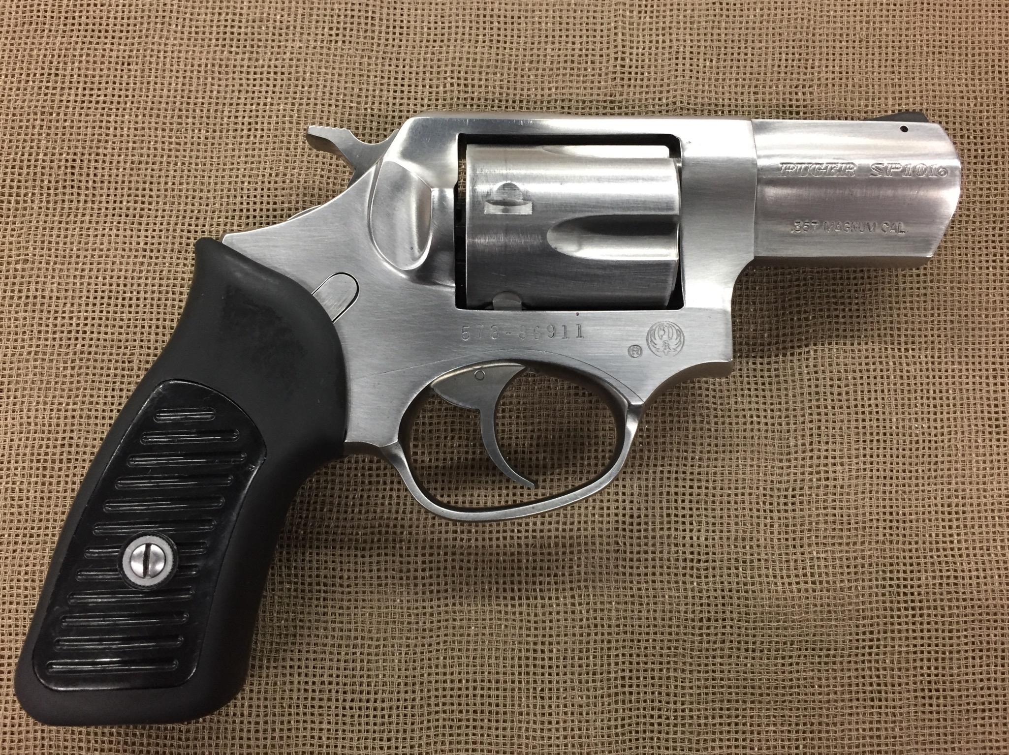 Ruger Model Sp101 357 Magnum 2 25 Stainless Saddle