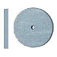 """Rubber Wheel 7/8"""" X 1/8"""" Blue"""