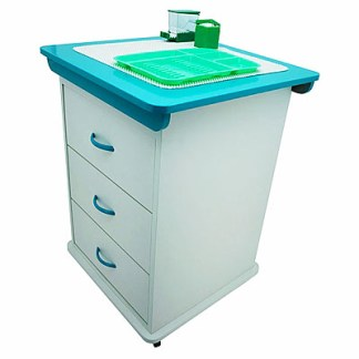 Alabama Assistant's Cart - Emerald Green