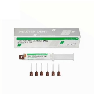Temporary Dental Cement Non-Eugenol (NE) Dual Barrel Syringe 7 ML W/ Tips
