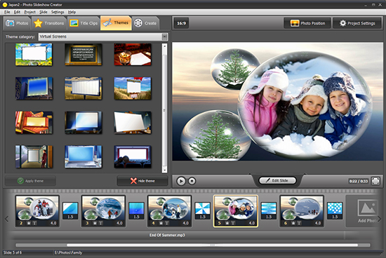 Photo Slideshow Creator 4.31 DC 16.12.2015
