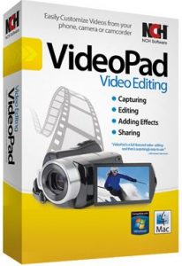 NCH VideoPad Video Editor Professional 4.31