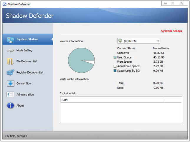 Shadow Defender Crack Serial Keys