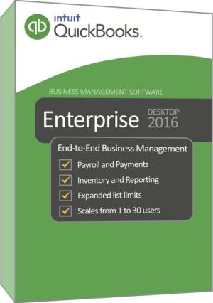 Intuit QuickBooks Enterprise Solutions 2016 Full Crack