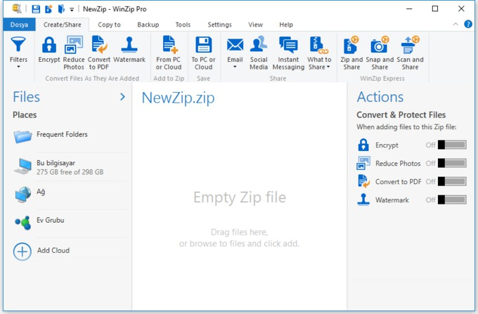 WinZip Pro 20 Full Version Free