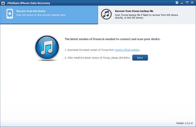 7thShare iPhone Data Recovery 1.3.1.4   Serial Key ! [Latest]  SadeemPC