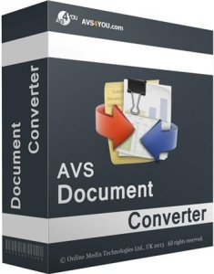 AVS Document Converter Crack Patch Keygen