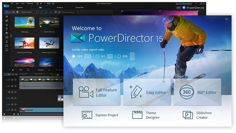 CyberLink PowerDirector Ultimate Suite 15 Keygen