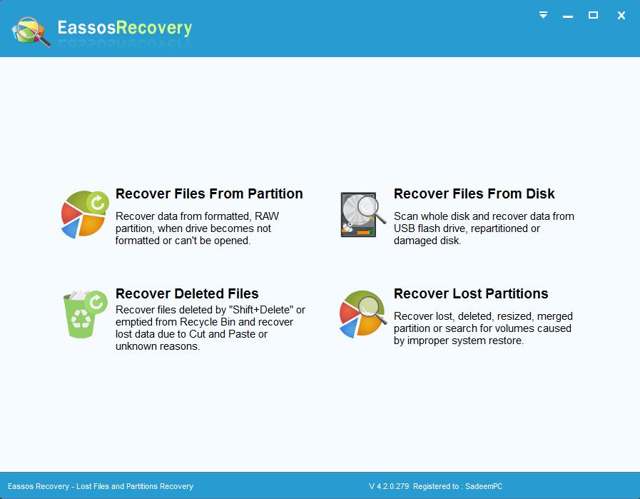 Eassos Recovery Crack License Key Full