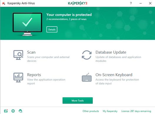 Kaspersky Anti-Virus 2018 License Keys