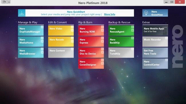 Nero Platinum 2018 Suite Crack