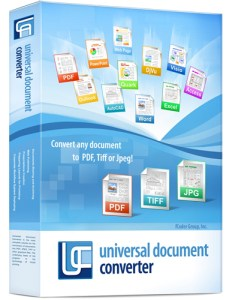 Universal Document Converter Crack Serial Key