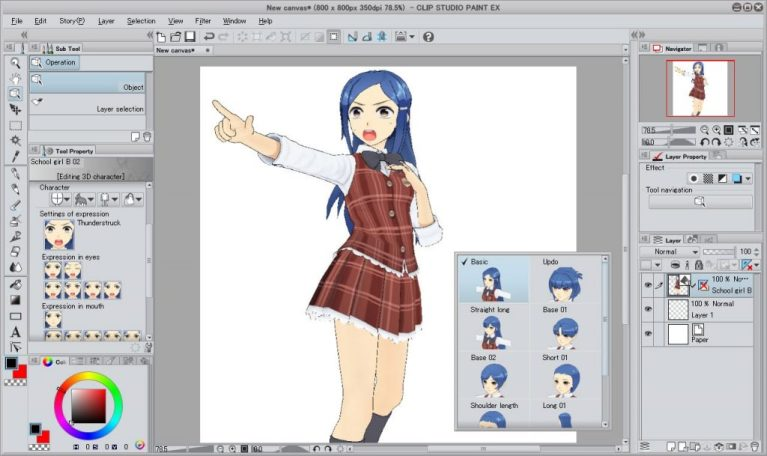 Clip Studio Paint EX Crack Serial Key Full Version