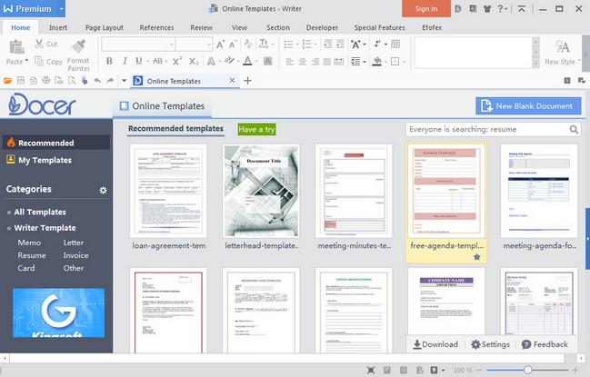 WPS Office 2016 Premium Crack Full Version