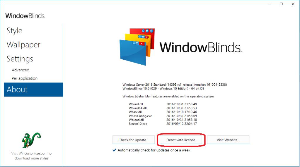 Stardock Windowblinds 10 Crack Keygen License Key