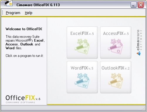 Cimaware OfficeFIX Professional 6 Crack Full Version