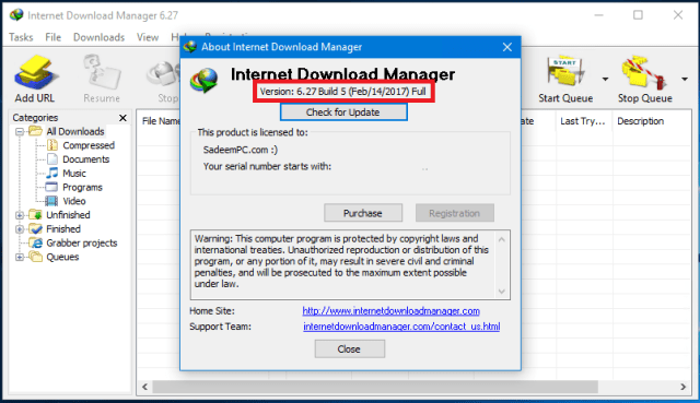 Internet Download Manager (IDM) 6.28 Build 1 + Silent [NO PATCH]