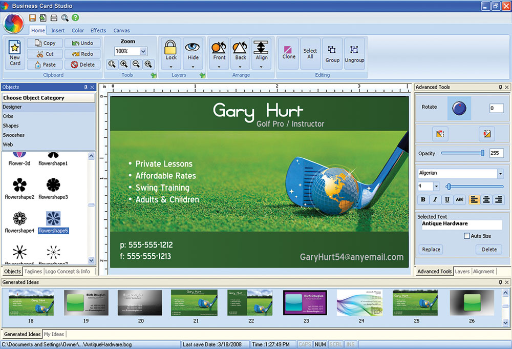 Business Card Studio Deluxe 10 License Key
