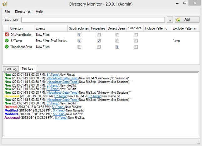 Directory Monitor Pro Full Version Crack