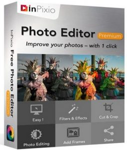 InPixio Photo Editor Premium Crack Patch Keygen License Key
