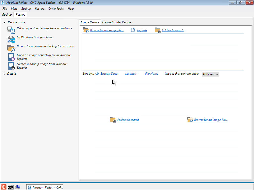 Macrium Reflect Technician's USB (WinPE 10.0 x64)