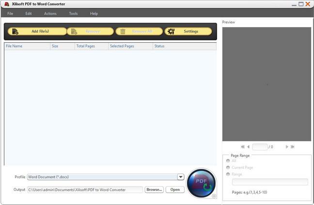 Xilisoft PDF to Word Converter Full Version Crack