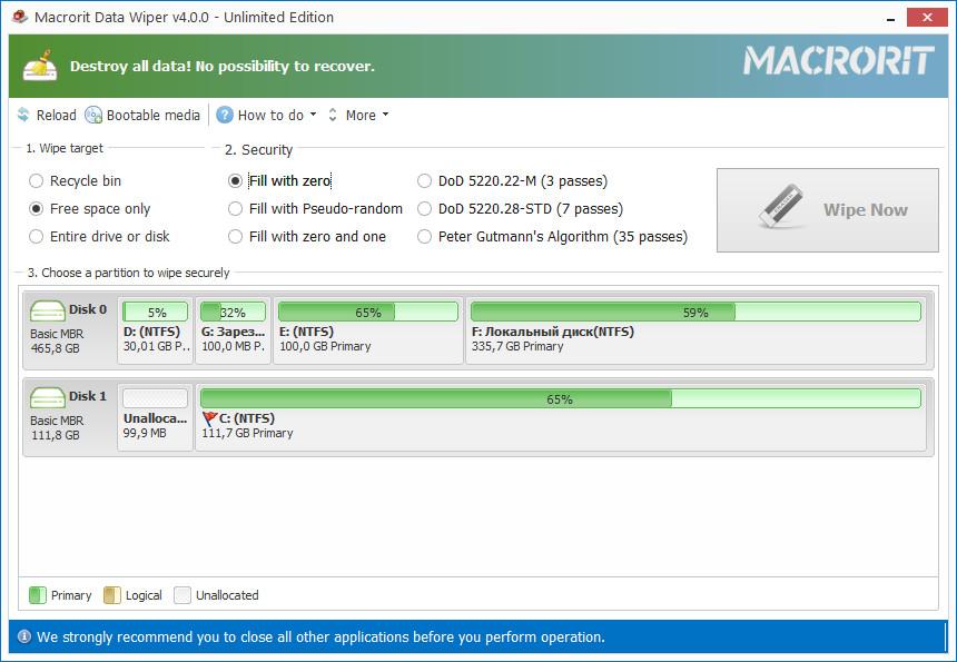 Macrorit Data Wiper 4 Crack