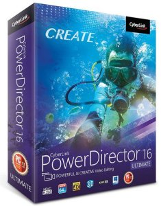 CyberLink PowerDirector Ultimate 16 Crack