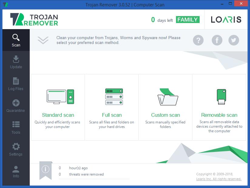 Loaris Trojan Remover Full version Crack