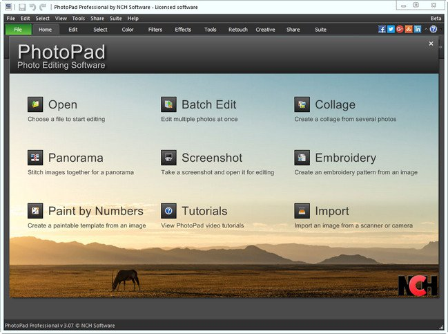 NCH PhotoPad Image Editor Professional Crack Patch Keygen Serial Key