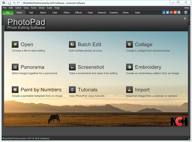 photopad register key