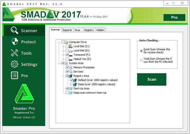 Smadav Pro 2017 Full Crack License Key