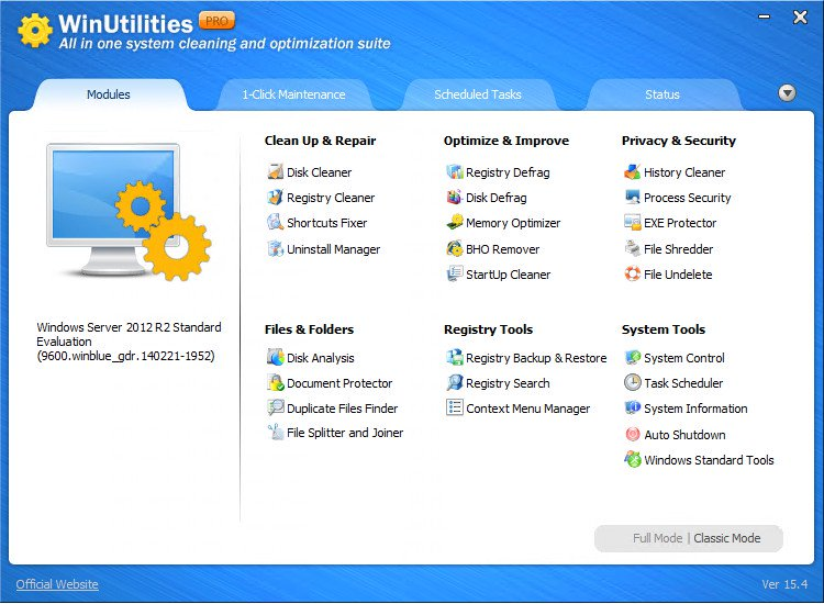WinUtilities Professional Full Version Key