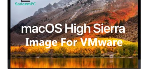 MacOS High Sierra Image For VMWare SadeemPC