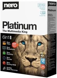 Nero Platinum 2019 Suite Crack Keygen