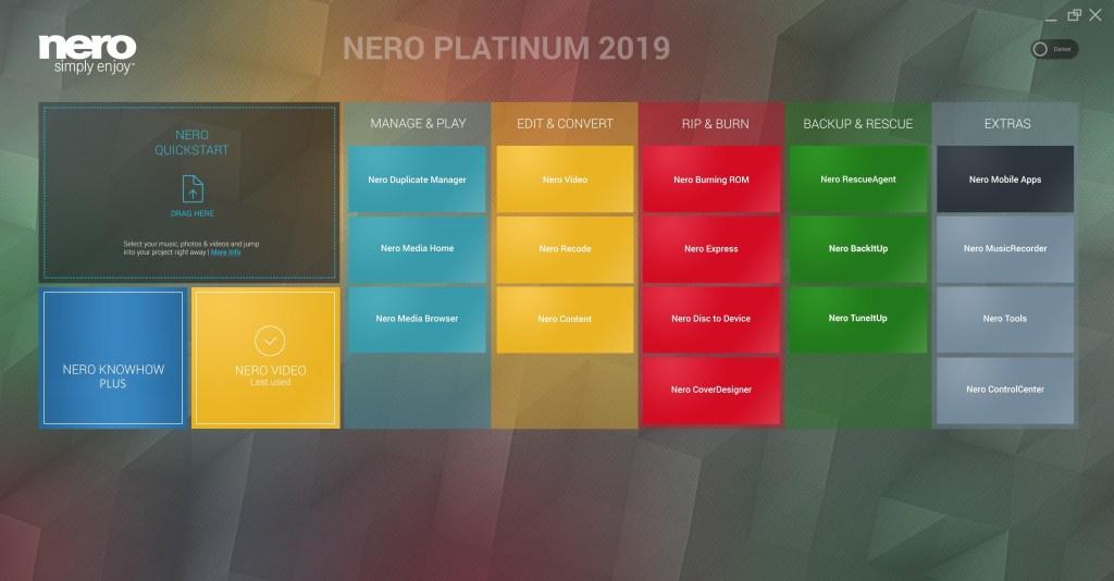 Nero Platinum 2019 Suite Full Version Crack