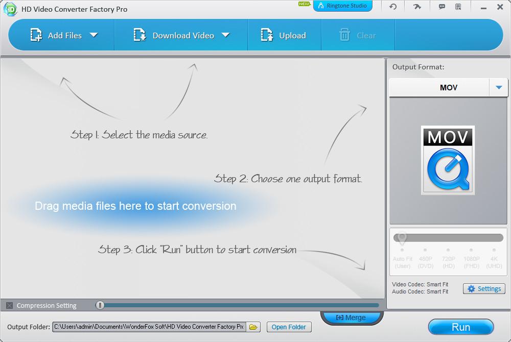 HD Video Converter Factory Pro Crack Serial key