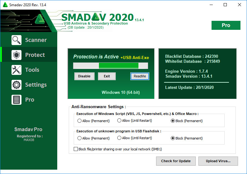 Smadav Pro Crack Serial Key