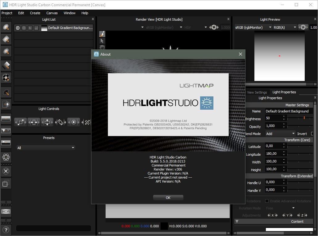 Lightmap HDR Light Studio Carbon 5 Crack Patch Keygen License Key