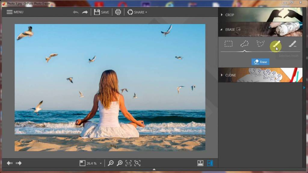 InPixio Photo Eraser 8 Full Version Cracked