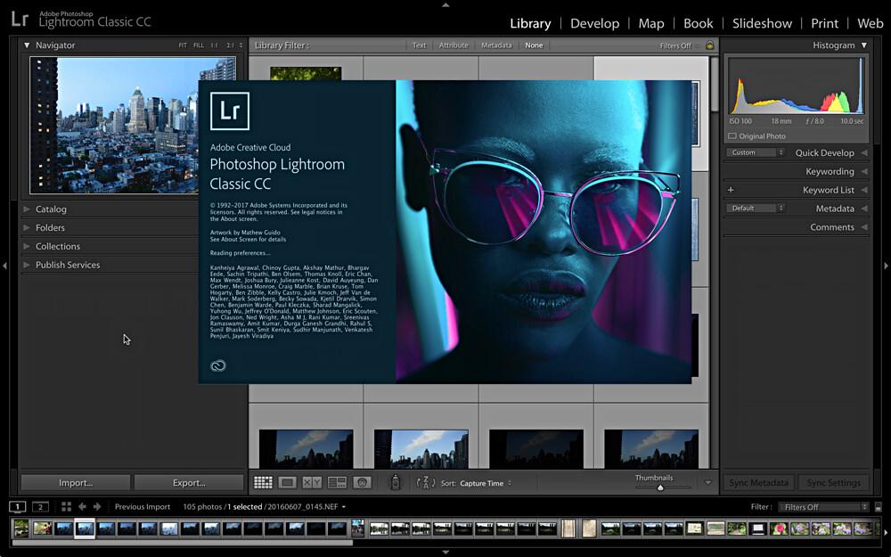 Adobe Photoshop Lightroom Classic CC Full Crack 2018