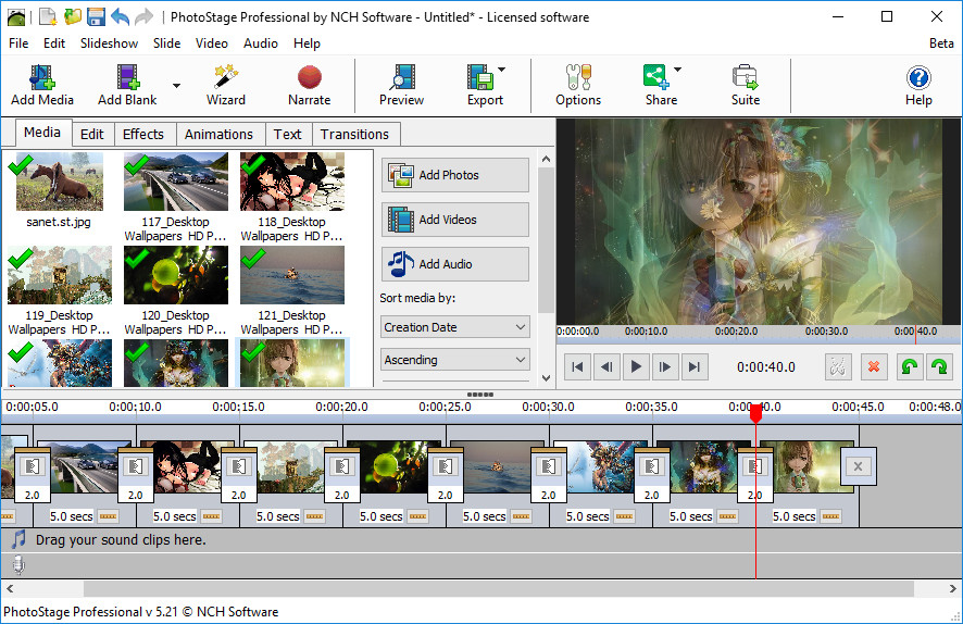 NCH PhotoStage Slideshow Producer Professional Crack Serial Key