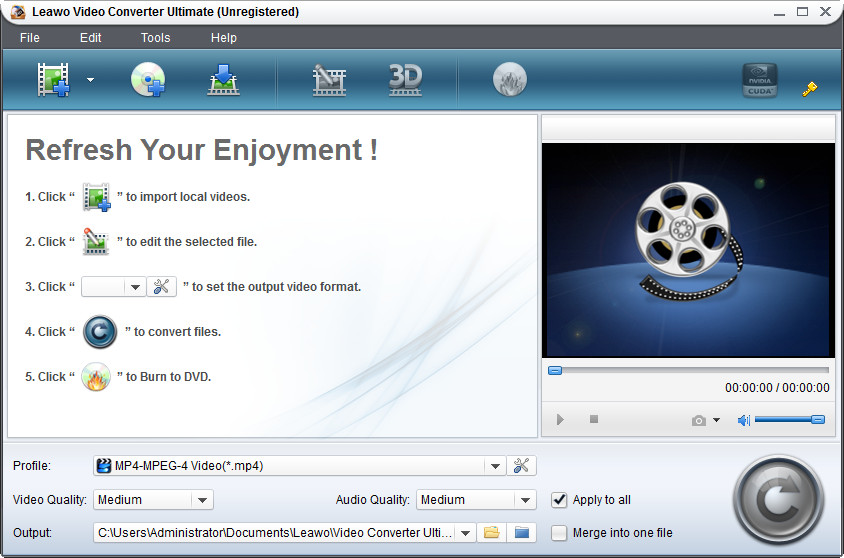 Leawo Video Converter Ultimate Crack Serial Key